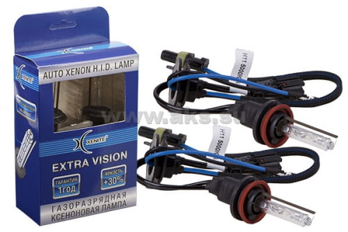 XENITE EXTRA VISION+30% H11 5000K