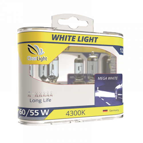 ClearLight WhiteLight H4