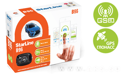 StarLine B96 GSM/GPS 2CAN-2LIN