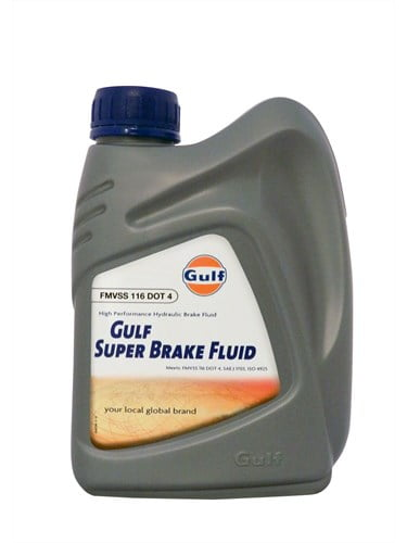 Gulf Brake Fluid Super DOT4 1L