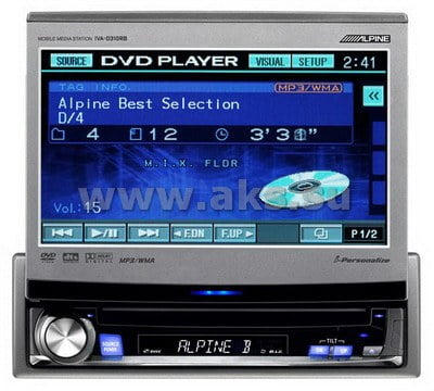 1. AV центр Alpine IVA-D310RB