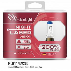 ClearLight Night Laser Vision H11