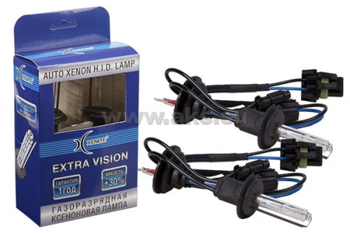 XENITE EXTRA VISION+30% H7 5000K