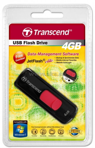 Transcend USB 4GB JetFlash 500/530 TS4GJF500/530